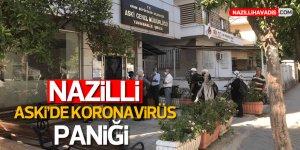 Nazilli ASKİ'de koronavirüs vakası