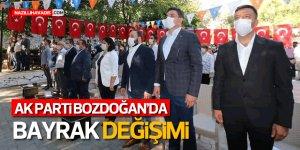 Ak Parti Bozdoğan'da bayrak Açılan'a emanet