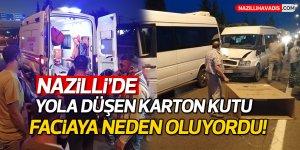 Yolcu minibüsleri çarpıştı: 1 yaralı