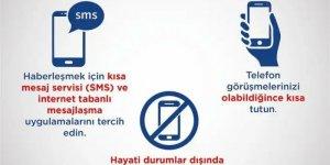 AFAD UYARDI: Hasarlı evlere girmeyin, SMS'i tercih edin