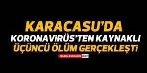 Karacasu'da koronavirüsten 3'üncü ölüm gerçekleşti