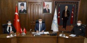 Aydın'da pandemi değerlendirme toplantısı