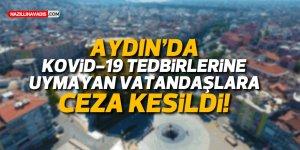 Kovid-19 tedbirlerine uymayan 371 kişiye ceza kesildi