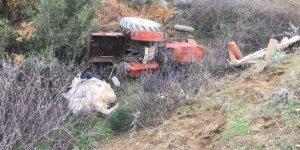 AYDIN'DA TRAKTÖR DEVRİLDİ! 1 kişi hayatını kaybetti