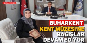 """Başkan Erol: """"Kültür varlıklarımızı müzede yaşatalım"""""""