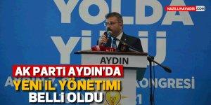 AK Parti Aydın'da yeni il yönetimi belli oldu