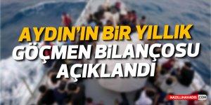 Aydın'ın bir yıllık göçmen bilançosu açıklandı