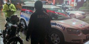 Nazilli'de Bekçileri Görünce Motoru Bırakıp Kaçtı