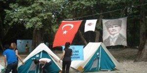 Nazilli Lisesi İzcilerinden Hafta Sonu Kampı
