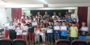 Didim'de Okullar Arası Dama Turnuvası Sonuçlandı