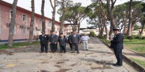 Polis teşkilatına Bozdoğan'da 6 kişilik tören!