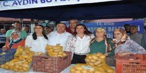 Çerçioğlu'ndan patates üreticisine destek